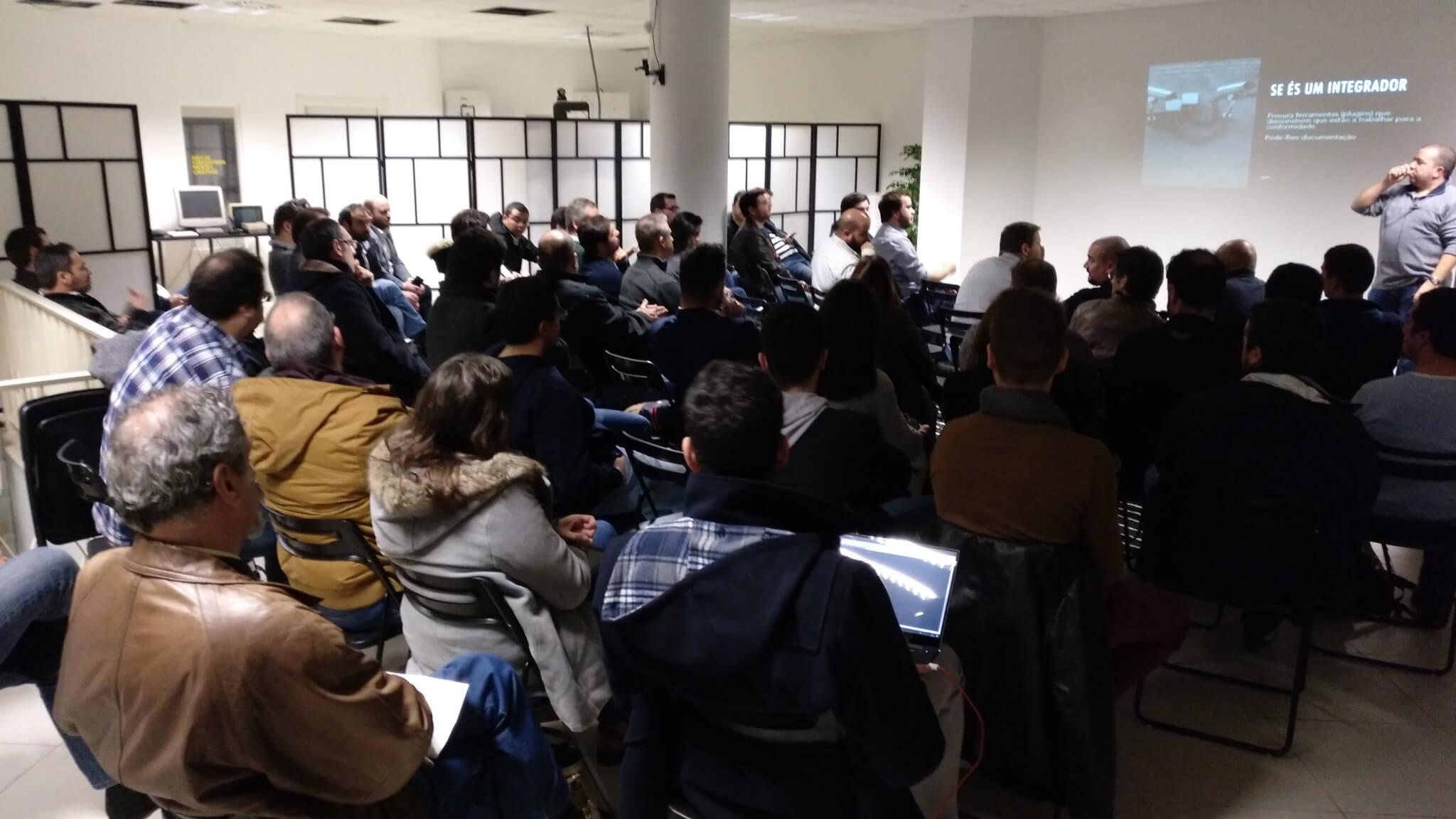 Positive Minds, Espaço comunidade, evento evento para programadores